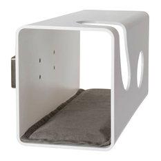 "Cat60 Plexiglas Cat Bed, ""Sire"" Wall Support"