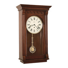 Howard Miller Chiming Key Wound Grandfather Wall Clock, Alcott