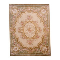 """Lotfy & Sons, Versailles Rug, 3'9""""x5'9"""" Ivory"""