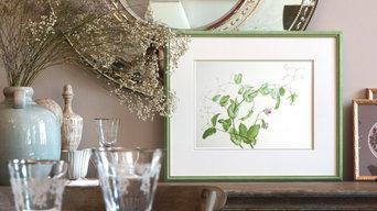 """Ботанический принт """"Green peas"""""""