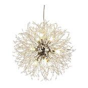 El Sol 12-Light Crystal Lighting Fixture