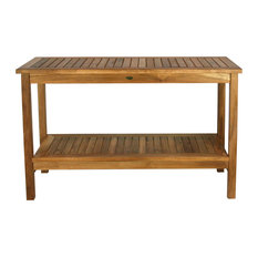 Teak Santa Barbara Serving Table