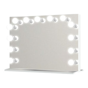 Led Lighted Hollywood Makeup Vanity Mirror Table Top Or