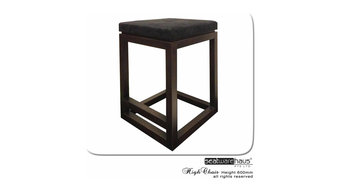 High Chair for 90cm counter or island kitchen