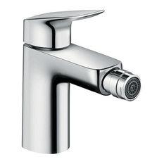Polished Chrome Whitehaus 3-3235-POCH Centurion 4 1//2-Inch Single Hole//Single Lever Bidet Faucet with Pop-Up Waste