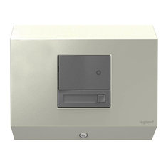 Legrand Adorne Control Box With Paddle Dimmer in Titanium Finish
