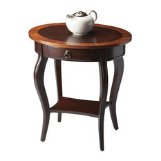 Butler Jeanette Cherry Nouveau Oval Accent Table