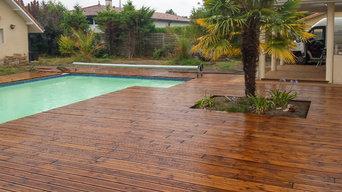 Terrase de piscine