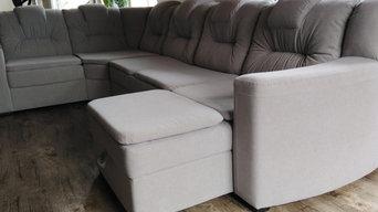 Выгодная перетяжка мебели в новую обивку микрофибра.