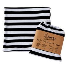 DII Black/White Stripe Multi-Use Cover