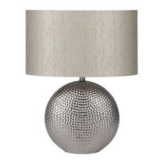 Mable Table Lamp, Chrome