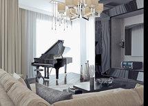 Что за люстра над роялем? Очень красиво!!!!