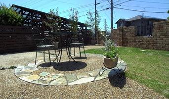サークルのある庭