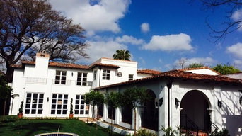 Half-Round Seamless Aluminum Gutters in Los Angeles
