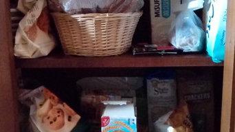Riorganizzazione cucina e dispensa