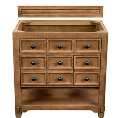 "Malibu 36"" Honey Alder Single Vanity"
