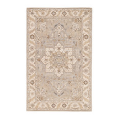 Jaipur Living Orleans Handmade Medallion Gray/Tan Area Rug, 8'x10'