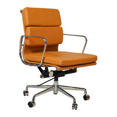 design tree home midcentury modern office chair orange office chairs chair mid century office