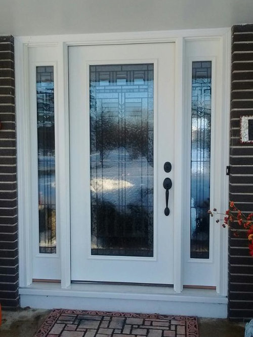 Home Owners replace drafty/worn out entrance door with a Paragon Door System & Home Owners replace drafty/worn out entrance door with a Paragon ... Pezcame.Com