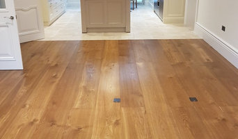 300mm stained, oiled oak