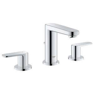 """Grohe Europlus 8"""" Widespread Two-Handle Bathroom Faucet, StarLight Chrome"""