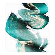 """Swirl I"" Fine Art Canvas Print, 54""x54"""