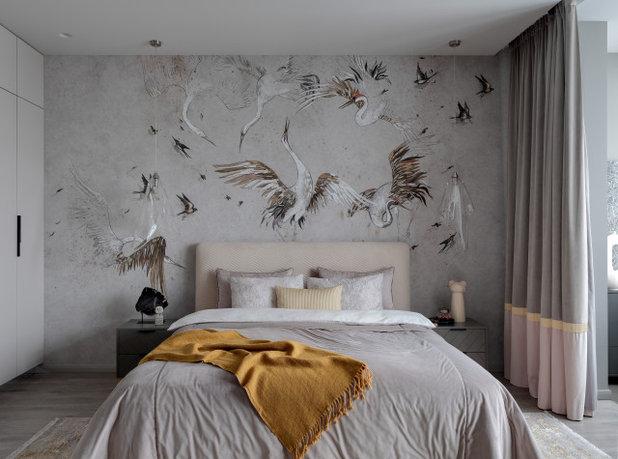 Современный Спальня by aminteriors