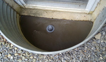 Window Well Drain Instillation