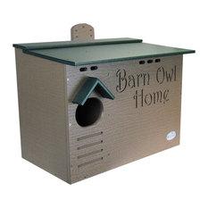 JCs Wildlife Barn Owl Nesting House, Large Homemade w/ Recycled Poly Lumber