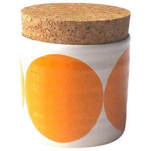 Spots Sugar Jar, Orange