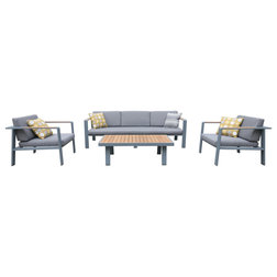 Contemporary Outdoor Lounge Sets by Homesquare