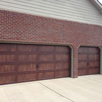 Faux Wood Garage Doors Contemporary Garage Detroit