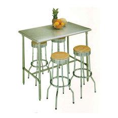 Kitchen Island 36 X 48 metal kitchen islands and carts | houzz