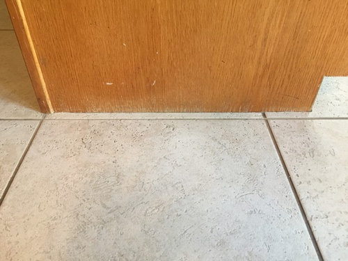 Use Shoe Molding Or Not In Kitchen And Family Room
