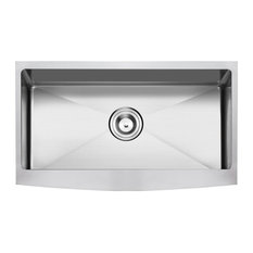 Apron/Farmhouse Stainless Steel Kitchen Sink, Single Bowl, 33""
