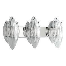 Cyan Design Chrome Bath Vanity Light With 3 Light 100W
