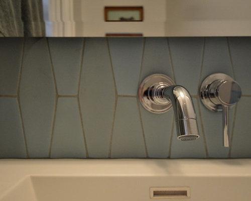 SaveEmail - Best Geometric Tile Backsplash Design Ideas & Remodel Pictures Houzz