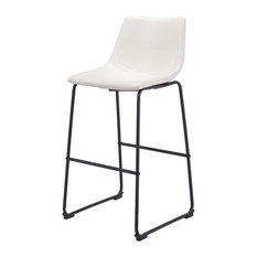 Carr Counter Chair Distressed White