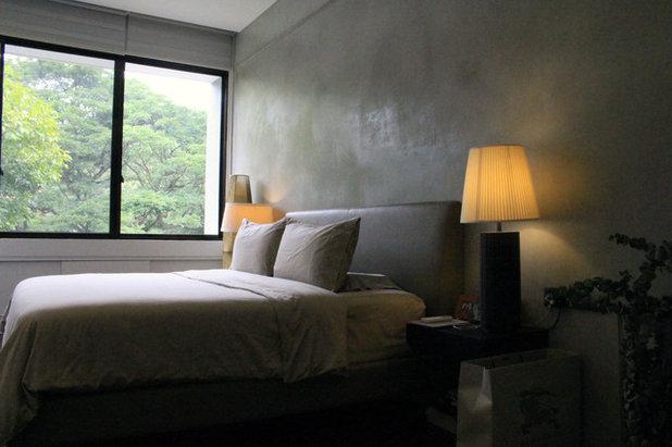 Contemporary Bedroom by PIÛ Design
