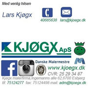Malerfirmaet Kjøgxs billeder