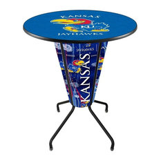 Lighted Kansas Pub Table
