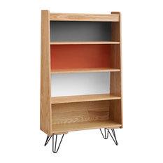 linon home perry bookcase bookcases