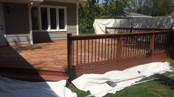 Waitakere Deck Painting