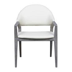 Emerald Home Carrera Arm Chair, Gray