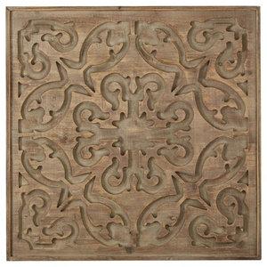 Bazaar Dark Wood Panel