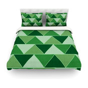 "Catherine McDonald ""Emerald City"" Duvet Cover, Cotton, King"