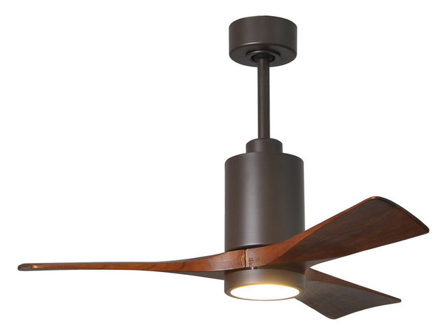 Patricia 3 blade paddle fan with light kit transitional ceiling patricia 3 3 blade paddle fan with light kit textured bronze 42 aloadofball Gallery