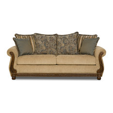 Charmant Simmons Upholstery   Simmons Upholstery Outback Antique Queen Sleeper   Sleeper  Sofas