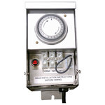 CAST Lighting - CAST Lighting 75VA Dual-Tap Transformer - Rugged, reliable, compact stainless steel CAST Journeymen  Series Dual-Tap 75VA Low Voltage Transformer comes with a built-in manual time clock to use with LED Fixtures.