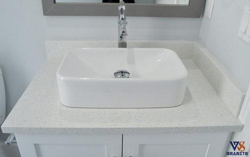 Sparkling White Quartz From Msi Bathroom And Kitchen Ideas